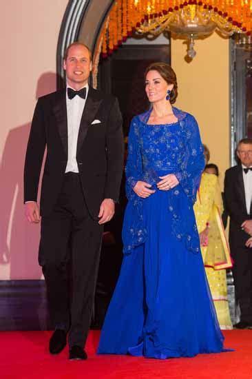 Alia By Ummina e kate middleton 232 una meraviglia alla prima cena di gala