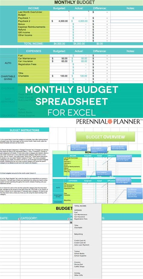 Budget Calculator Excel Spreadsheet by Best 25 Household Budget Spreadsheet Ideas On