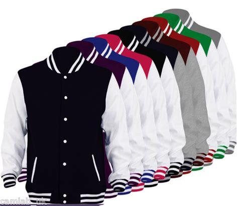 College Letter Jackets mens boys unisex varsity letterman college baseball jacket ages 3 99 ebay