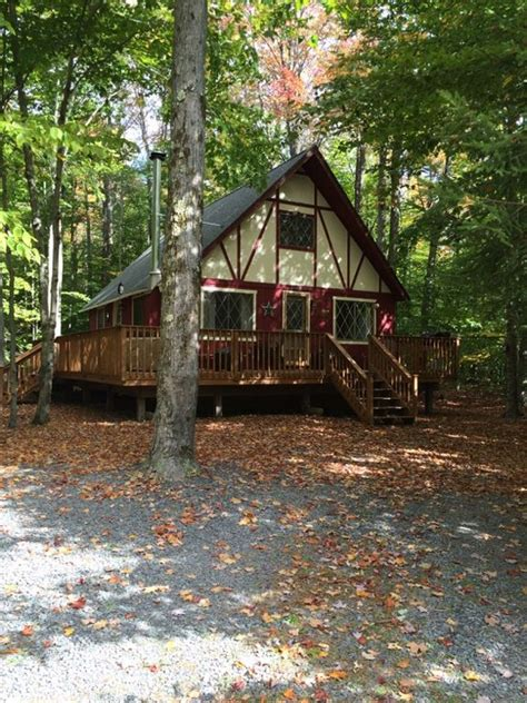 Pocono Cabin Rentals On Lake by Cozy Charming Pocono Lake Cabin Nestled Homeaway