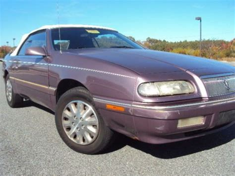 auto air conditioning repair 1995 chrysler lebaron parental controls sell used 1995 chrysler lebaron lx convertible maryland inspected no reserve in ocean city