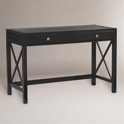 Desks World Market by Antique Black Easton Desk World Market