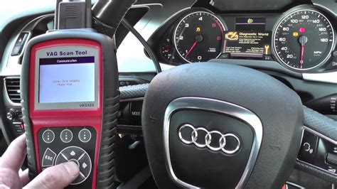 Vag Audi A4 by Audi A4 B8 Abs Warning Light Reset Vag 505 2008 To 2015