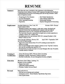 killer resume sles resume tips free cv