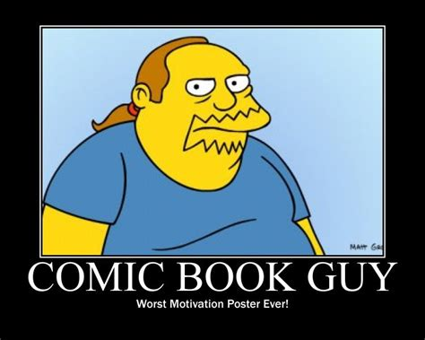 Comic Book Memes - comic book guy mitc productions