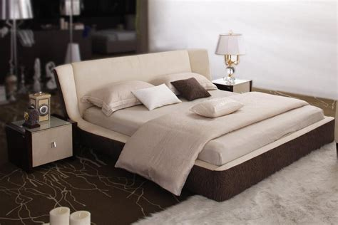 exotic beds exotic wood high end platform bed with easy to clean fabric portland oregon vtro