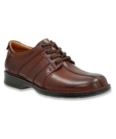 clarks oxford shoes clarks s touareg vibe oxfords shoes in brown for