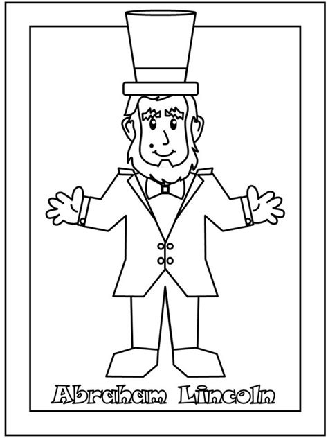 coloring pages for presidents day president s day coloring pages and pintables for