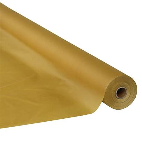 gold table cover roll metallic gold table cover roll shindigz