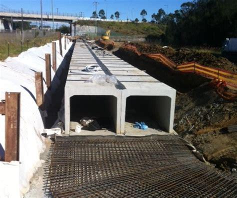 culvert pit rasmith au holcim rail siding aggregates