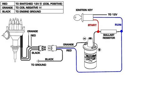 wiring diagram coil ignition 12 volt ignition coil wiring