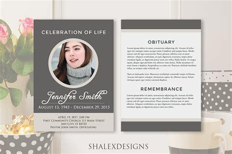 funeral biography template celebration of flyer design yourweek 654d52eca25e