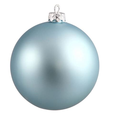 vickerman 25009 4 quot baby blue matte ball christmas tree