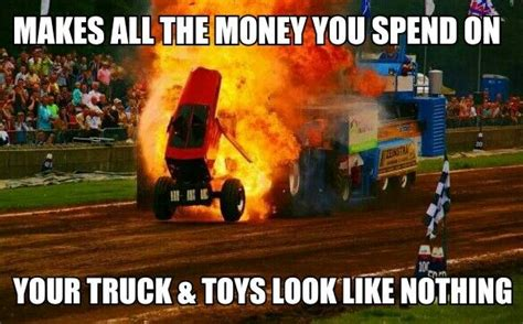 Tractor Meme - best way to go broke tractor pulling is better than vegas