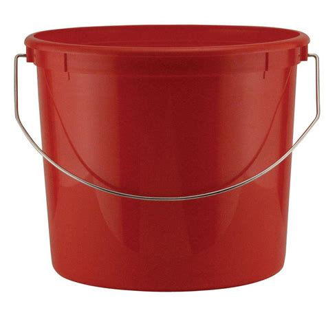 leaktite 5 qt plastic with steel handle 24