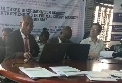 Formal Credit Market Page Project Nigeria Pmma 12384 Pep
