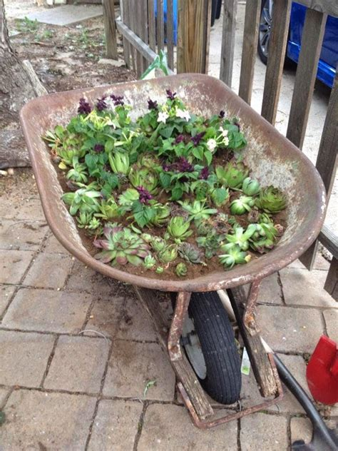360 best images about planters wheelbarrows on pinterest