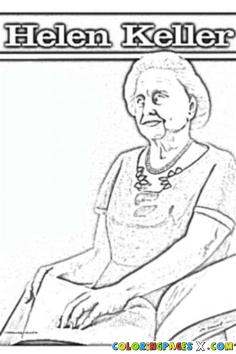 helen keller biography pages free helen keller coloring pages