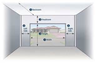 2 car garage door sizes