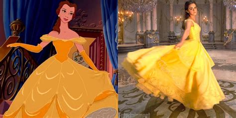 emma watson yellow dress beauty and the beast how belle s iconic yellow dress was made for emma watson