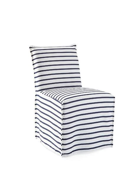 blue striped chair slipcovers megan camelback chair and slipcover