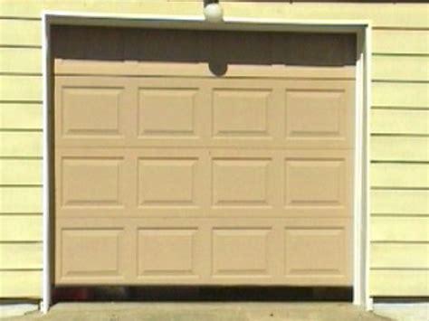 How To Remove A Garage Door by How To Replace A Garage Door How Tos Diy