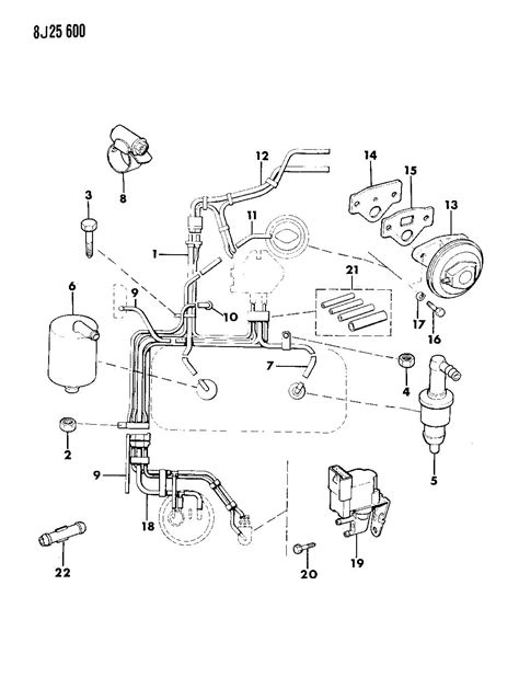 1988 Jeep Wrangler Parts 1988 Yj Engine Diagram
