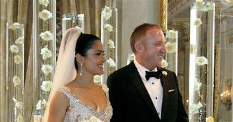Salma Hayek Is And Engaged by Salma Hayek S Wedding