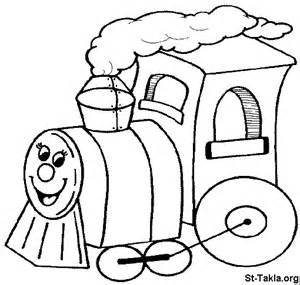 Image Coloring 149 Train Toy صورة تلوين لعبة  sketch template