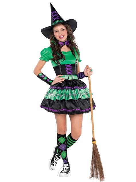 teen wicked cool witch costume 999433 fancy dress ball