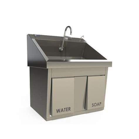 Scrub Sink knee operated scrub sink medline capital