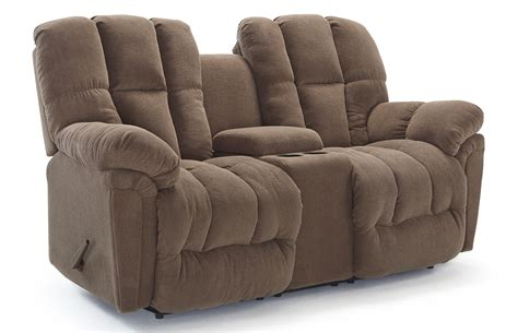 console loveseat lucas plush power rocking reclining loveseat with drink