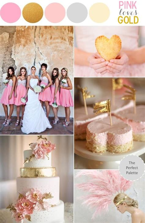 pink gold wedding pink and gold wedding theme sparkly pink wedding ideas