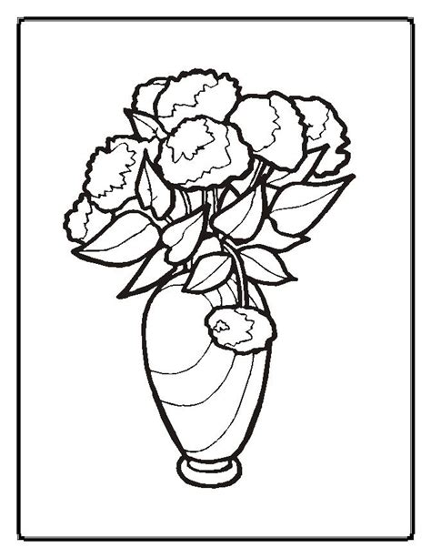 Flowers Coloring Pages Moms Who Think Flowering Coloring Pages