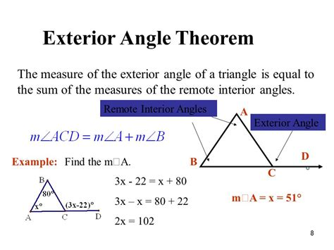 Find The Sum Of Interior Angles by Chapter 5 Review Perpendicular Bisector Angle Bisector Median Altitude Exterior Angles And