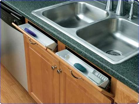 Kitchen Cabinet Accessory by Sink Base Tip Out Trays Rta Cabinet Store