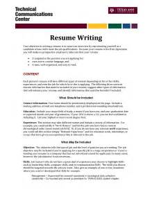 Writing Objective Resume by Make Resume
