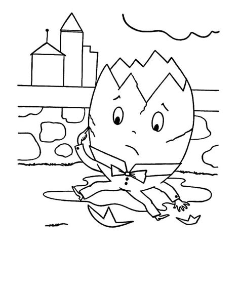Humpty Dumpty Outline Coloring Coloring Pages Humpty Dumpty Coloring Page Radiokotha Humpty Dumpty Coloring Page