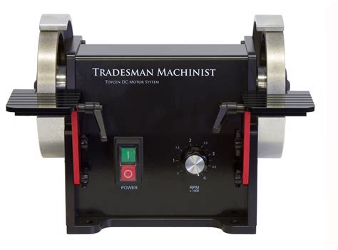 bench grinder variable speed tradesman 6 quot machinist dc variable speed bench grinder
