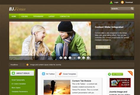 joomla site templates 50 beautiful and amazing free joomla templates artatm