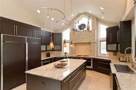 Industrial Style Kitchen Faucet by Innovative Granite Countertop Colors Technique Chicago