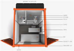 Shipping Container Home Design Tool by Natto Micro Shipping Container Home Design Concept
