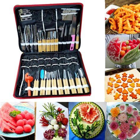 Watermelon Fruit Tool 80pcs set multifunction watermelon fruit carving tools kit