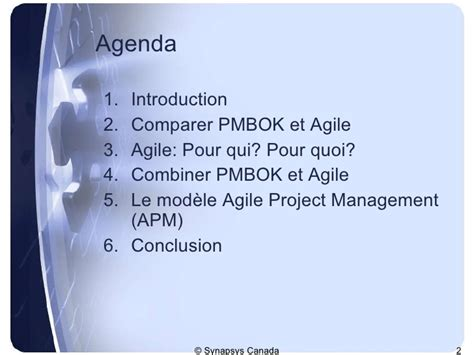 The Agile Mba Review by Gestion De Projets Agile V1
