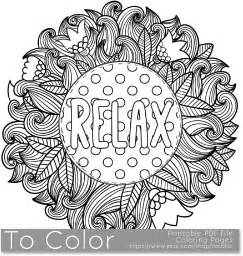 coloring pages for adults calming relax coloring page for grown ups this is a printable