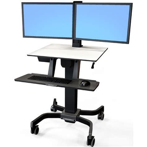 dual monitor stand up desk dual monitor desk stand up car interior design