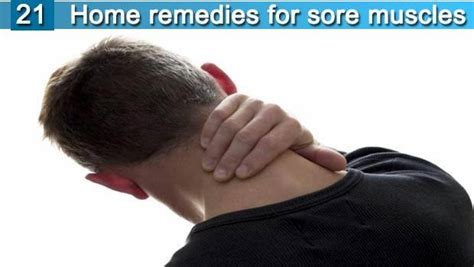 21 home remedies for sore muscles in neck shoulders back