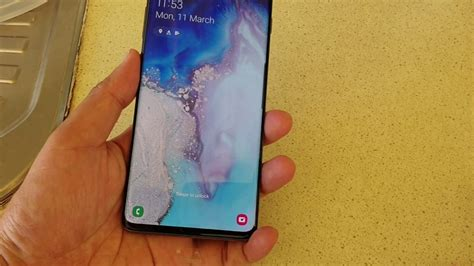 Samsung Galaxy S10 Lock Screen by Samsung Galaxy S10 S10 Two Ways To Up The Lock Screen Without Home Button