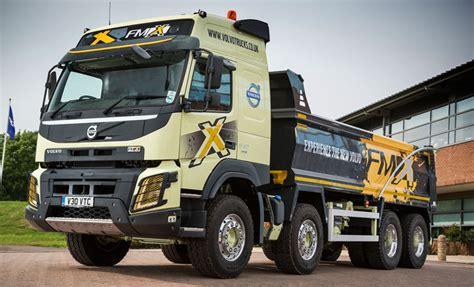 volvo trucks uk volvo trucks on display at tip ex 2015 trucks uk haulier