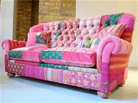 bright pink sofa 482 best images about sew patchwork upholstery on